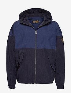 Yuku Shell Jacket - BIG BLUE