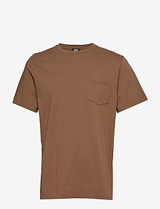 Dylan Pocket Tee - BROWN