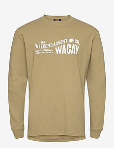 Wacay Wave LS - FADED GREEN