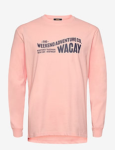 Wacay Wave LS - FLAMINGO