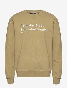 Saturday Slack Sweatshirt - FADED GREEN