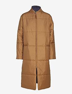 Lilo Loft Coat - wyściełane płaszcze - cedar