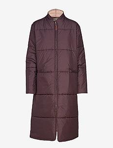 Lilo Loft Coat - dunkappor - purple