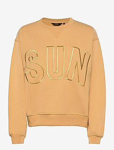 Sun Sweatshirt - SALTY YELLOW