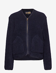 Dixie Wool Fleece - DARK BLUE MELANGE