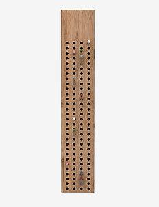 Scoreboard Large, Vertical - knager & knagerækker - natural bamboo