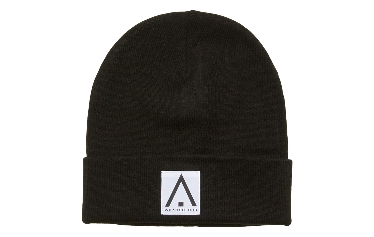 WearColour PUPPET Beanie - BLACK