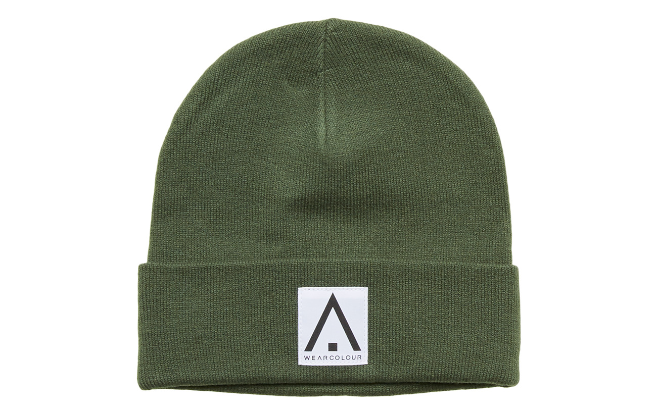 WearColour PUPPET Beanie - OLIVE