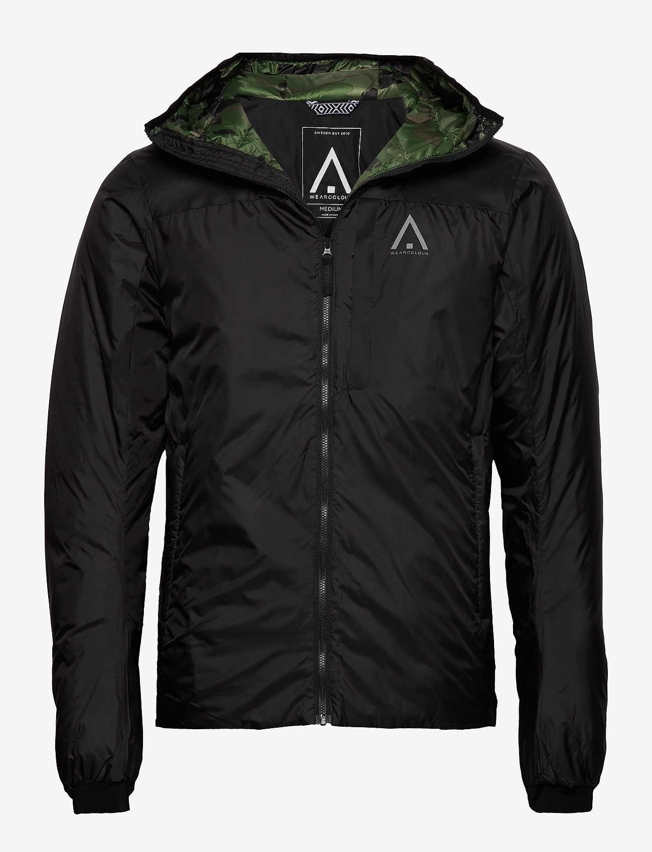 Icon Jacket Black w//attached Hood
