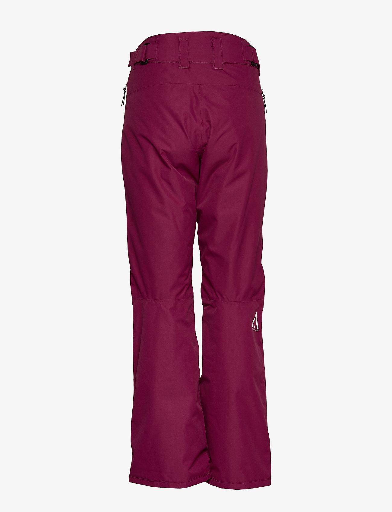 WearColour - FINE Pant - skibroeken - tibetan red - 1