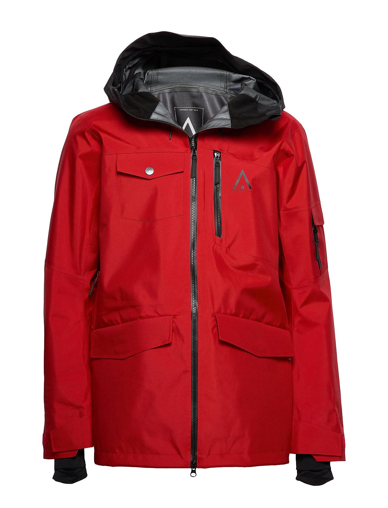 WearColour HAWK Jacket - FALU RED