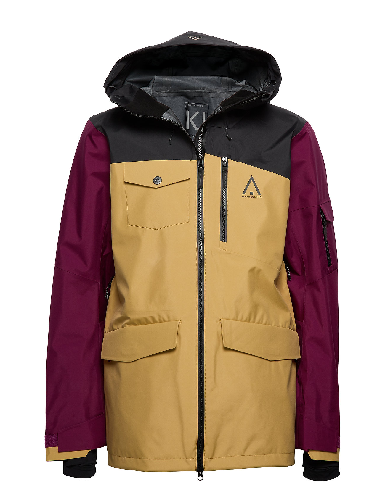 WearColour HAWK Jacket - TIBETAN RED