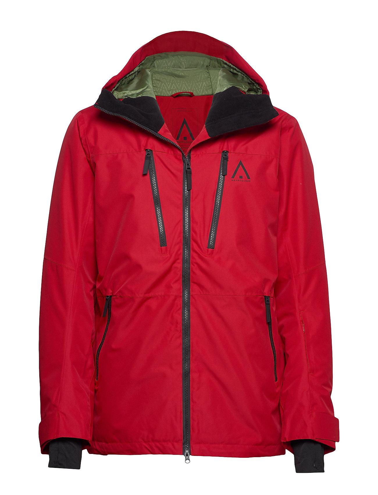 WearColour GRID Jacket - FALU RED