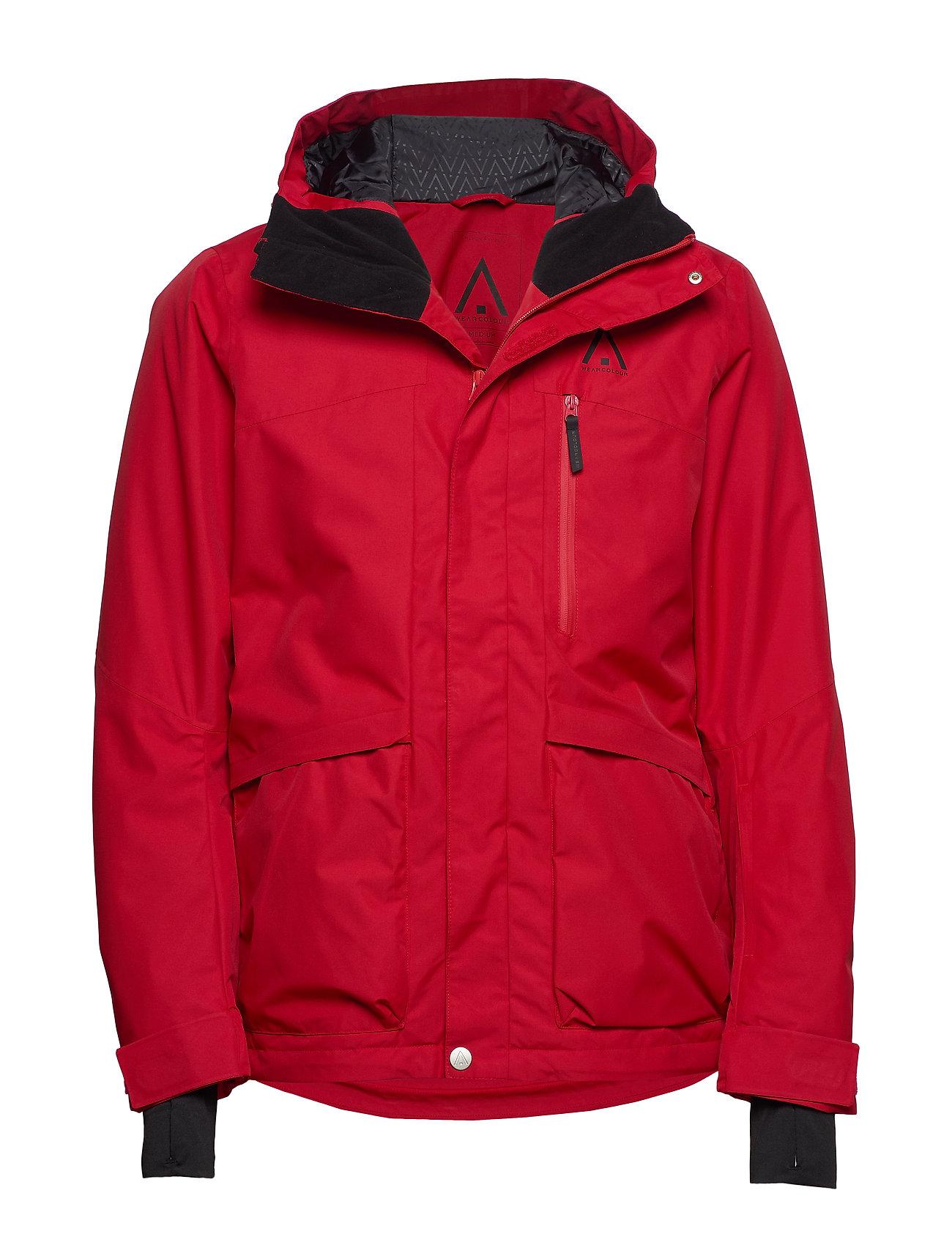 WearColour ACE Jacket - FALU RED