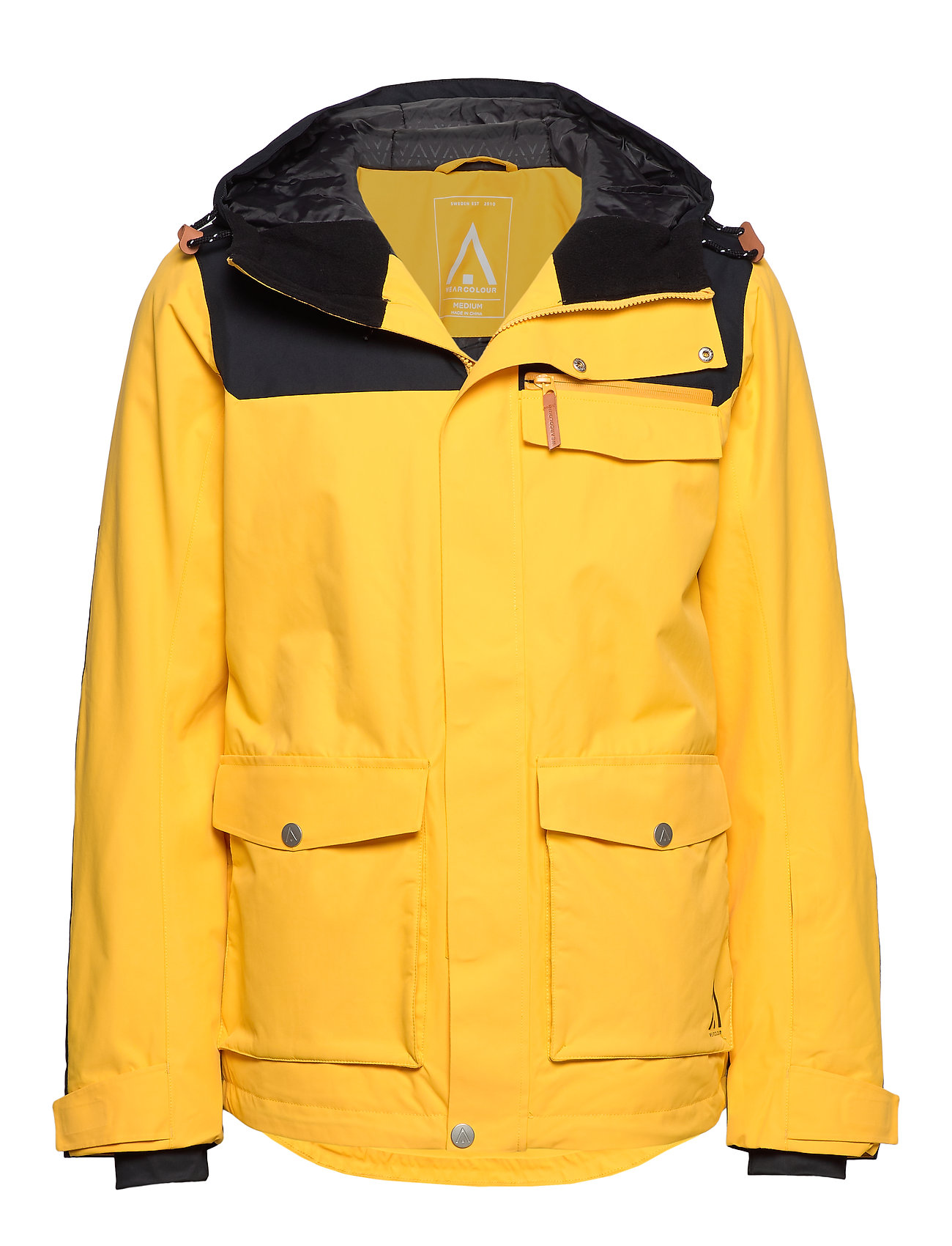 WearColour ROAM Jacket - DAFFODIL