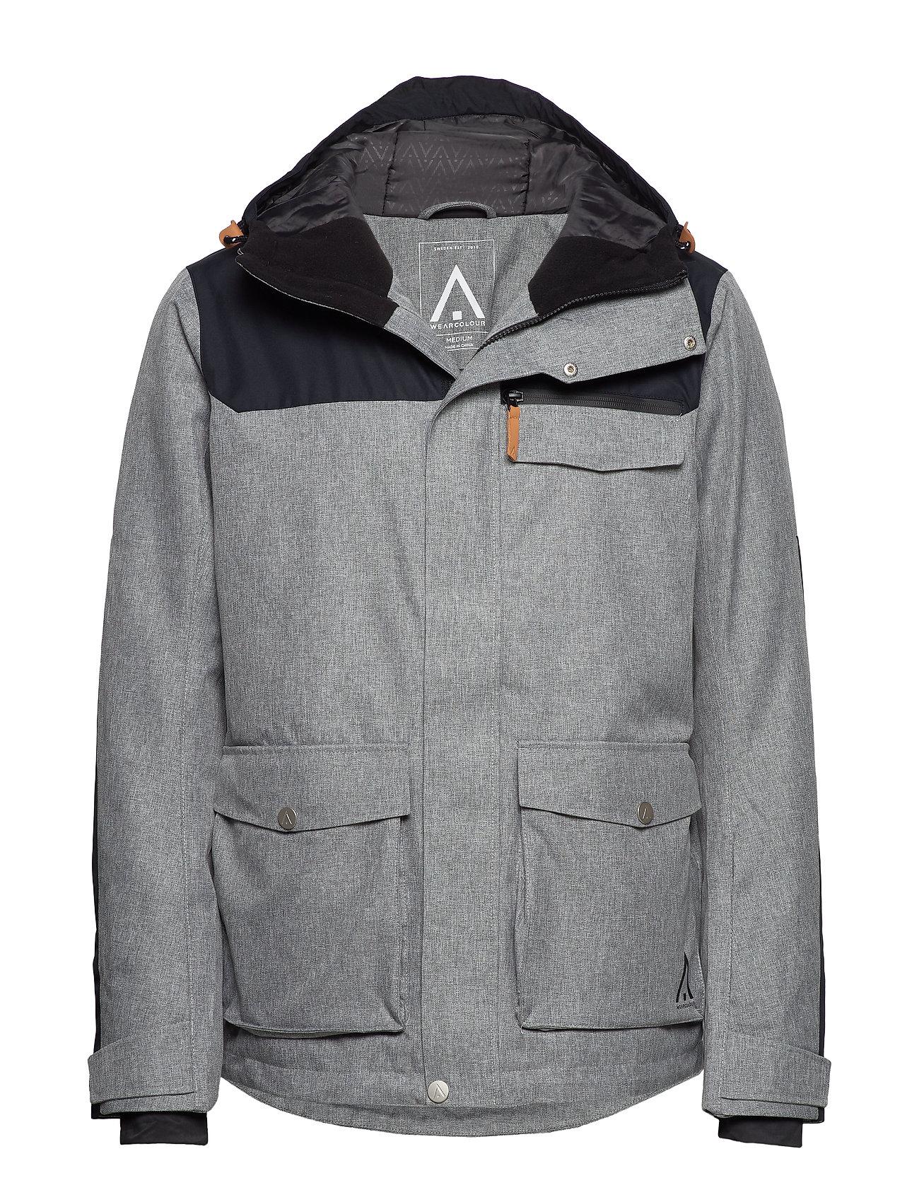 WearColour ROAM Jacket - GREY MELANGE