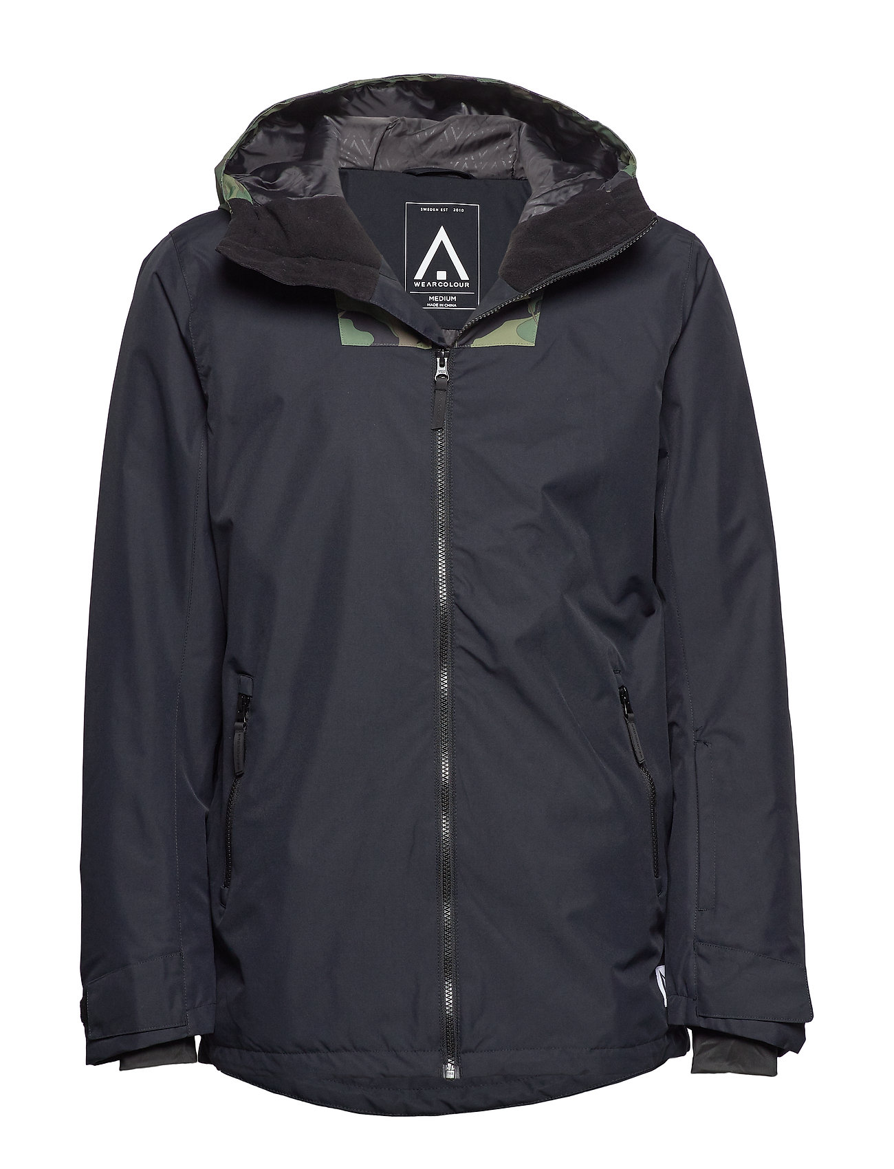 WearColour BLOCK Jacket - BLACK
