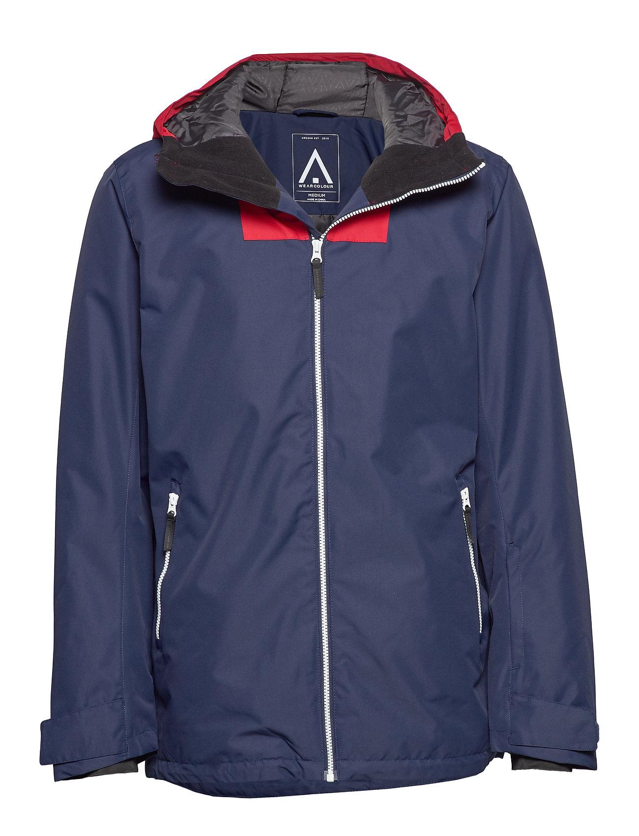 WearColour BLOCK Jacket - BLUE IRIS