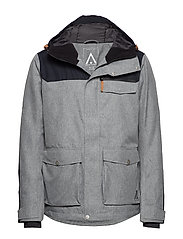 ROAM Jacket - GREY MELANGE