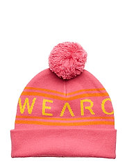 KNIT Beanie - POST PINK
