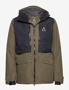 CHUTE Jacket - thermojacken - mud