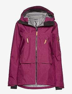 OWL Jacket - skijakker - tibetan red