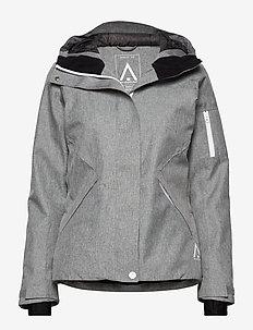 BASE Jacket - GREY MELANGE