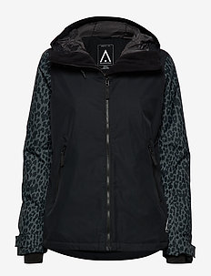CAKE Jacket - ski jackets - black leo