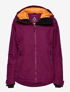 CAKE Jacket - skijakker - tibetan red