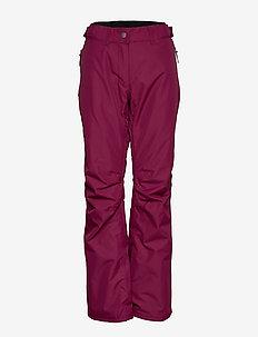 FINE Pant - skibukser - tibetan red