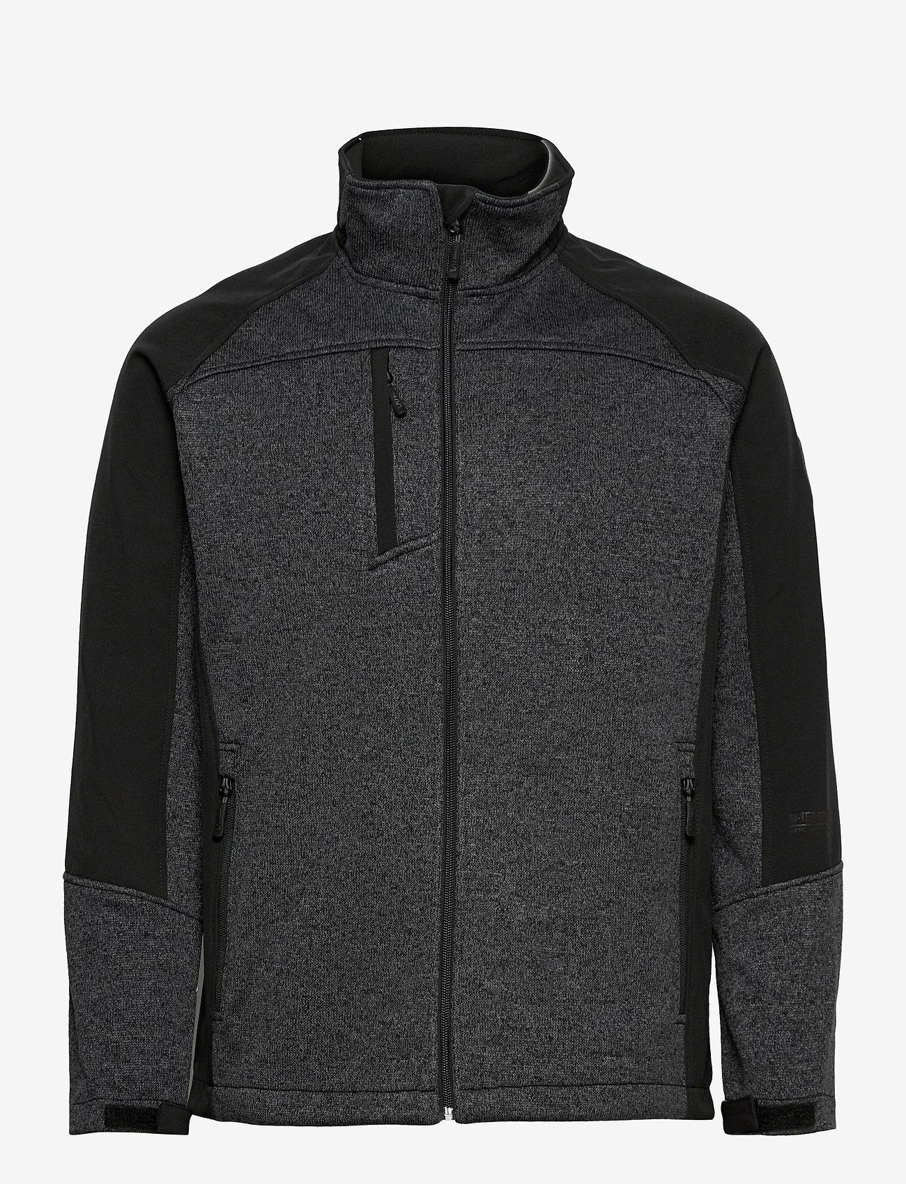 Weather Report - Jorg Mens softshell jkt - basic-sweatshirts - black - 0