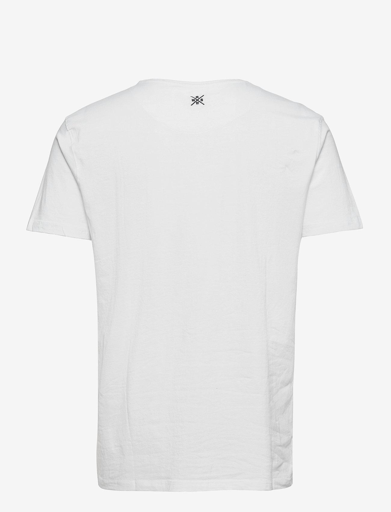 Weather Report - Falco Men`s T-shirt - krótki rękaw - white - 1