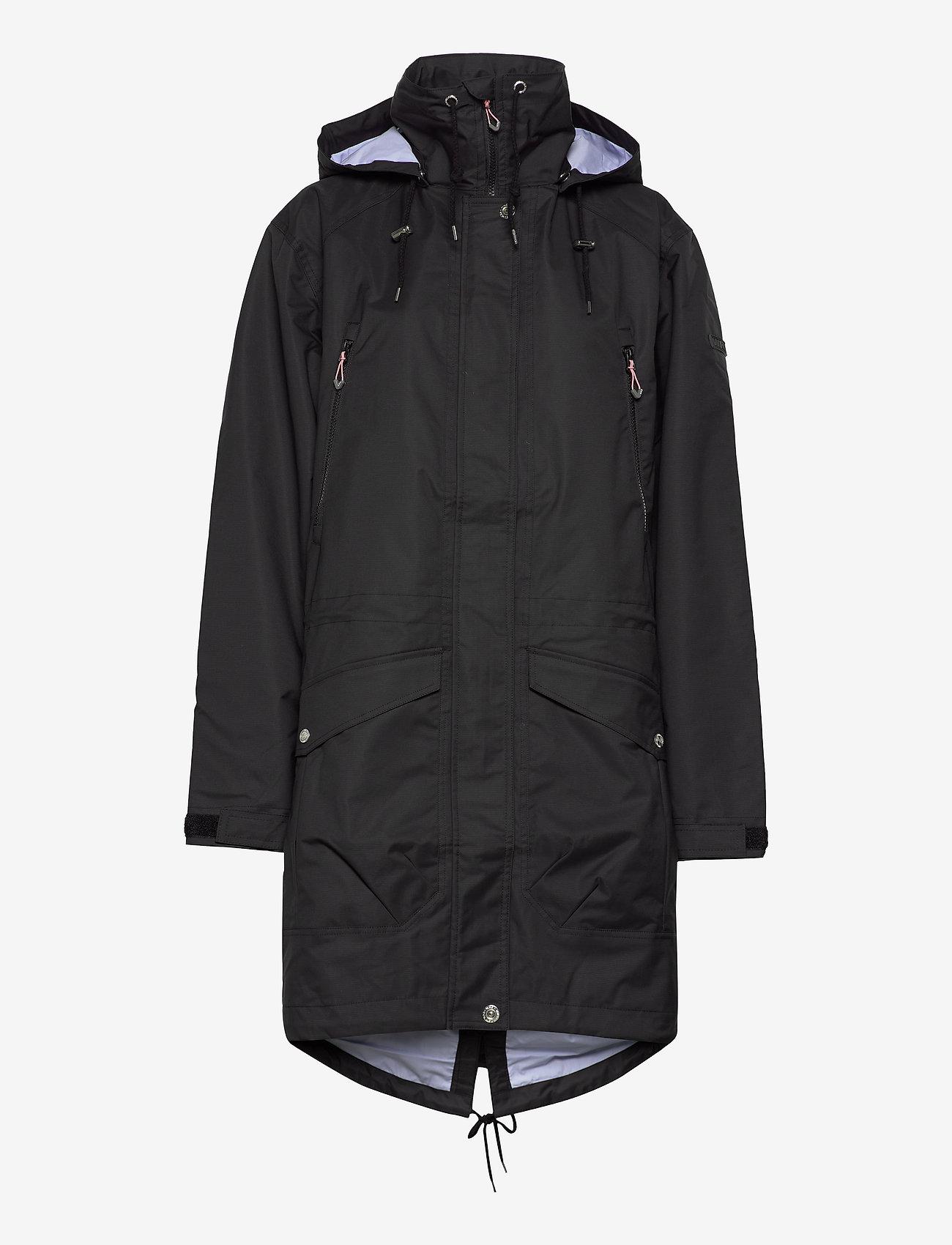 Weather Report - Daniella W Jacket - manteaux de pluie - black - 0
