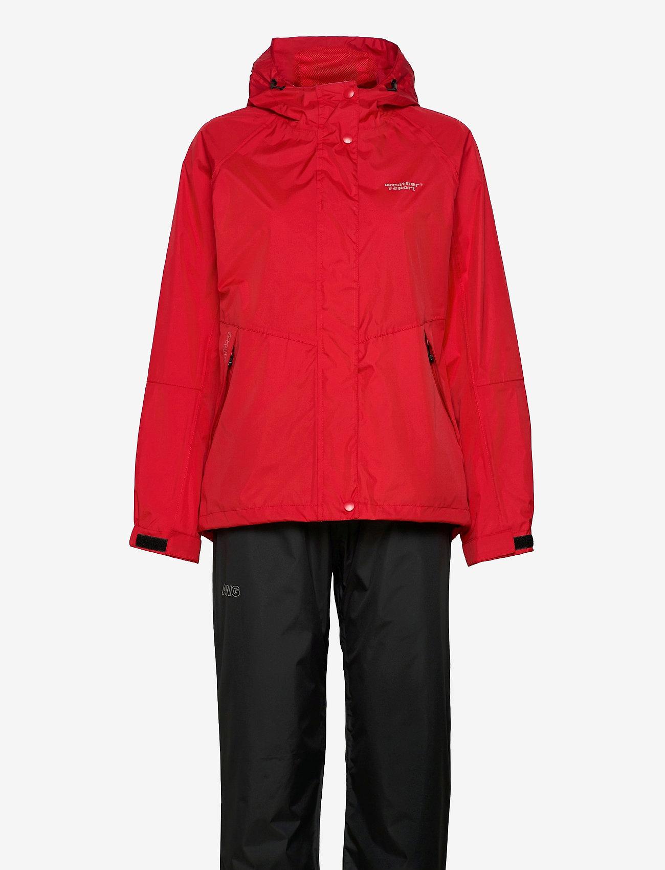 Weather Report - Carlene W AWG Rain Set W-PRO 10000 - manteaux de pluie - chinese red - 0