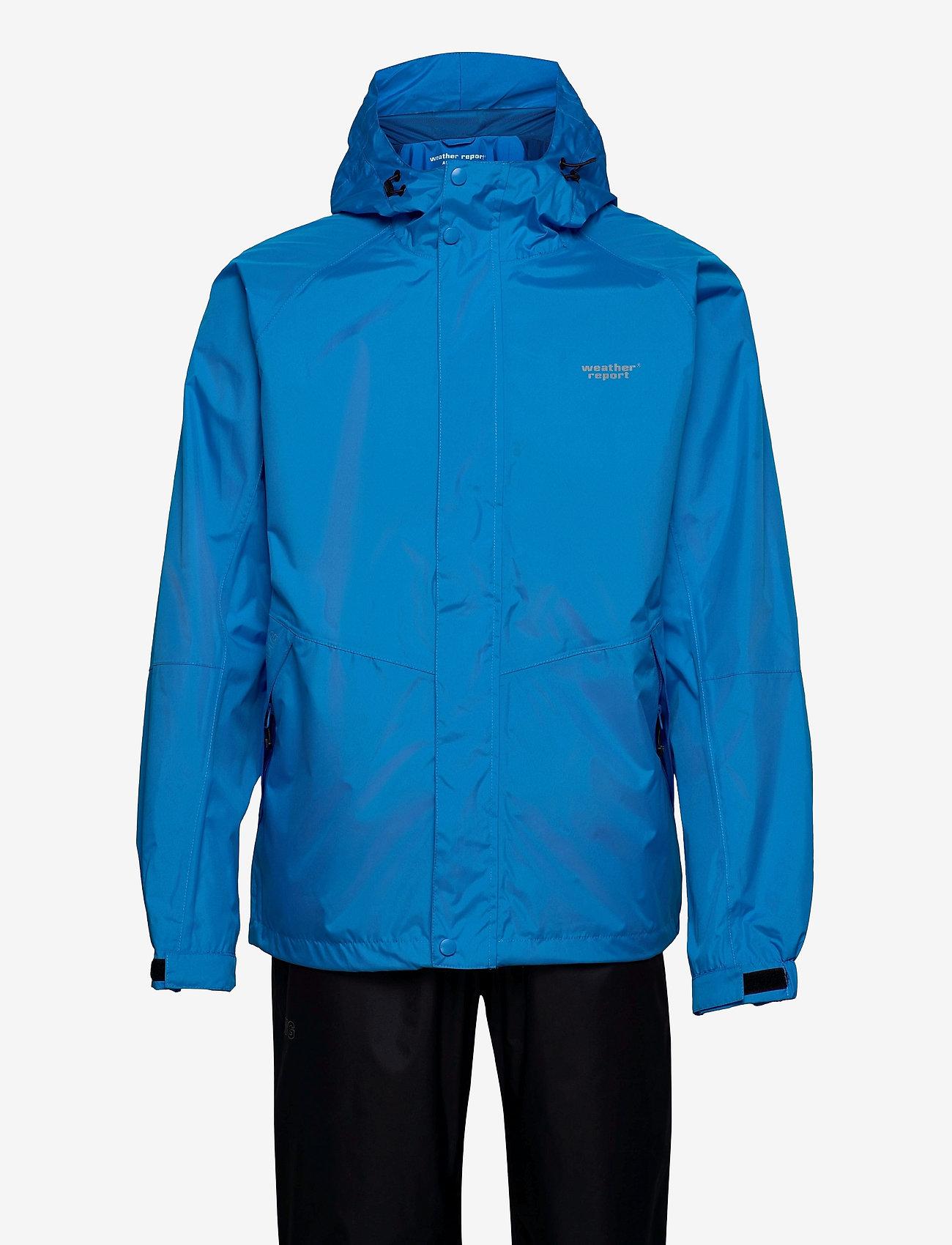 Weather Report - Jagger M AWG Rain Set W-PRO 10000 - spodnie wodoodporne - brilliant blue - 0