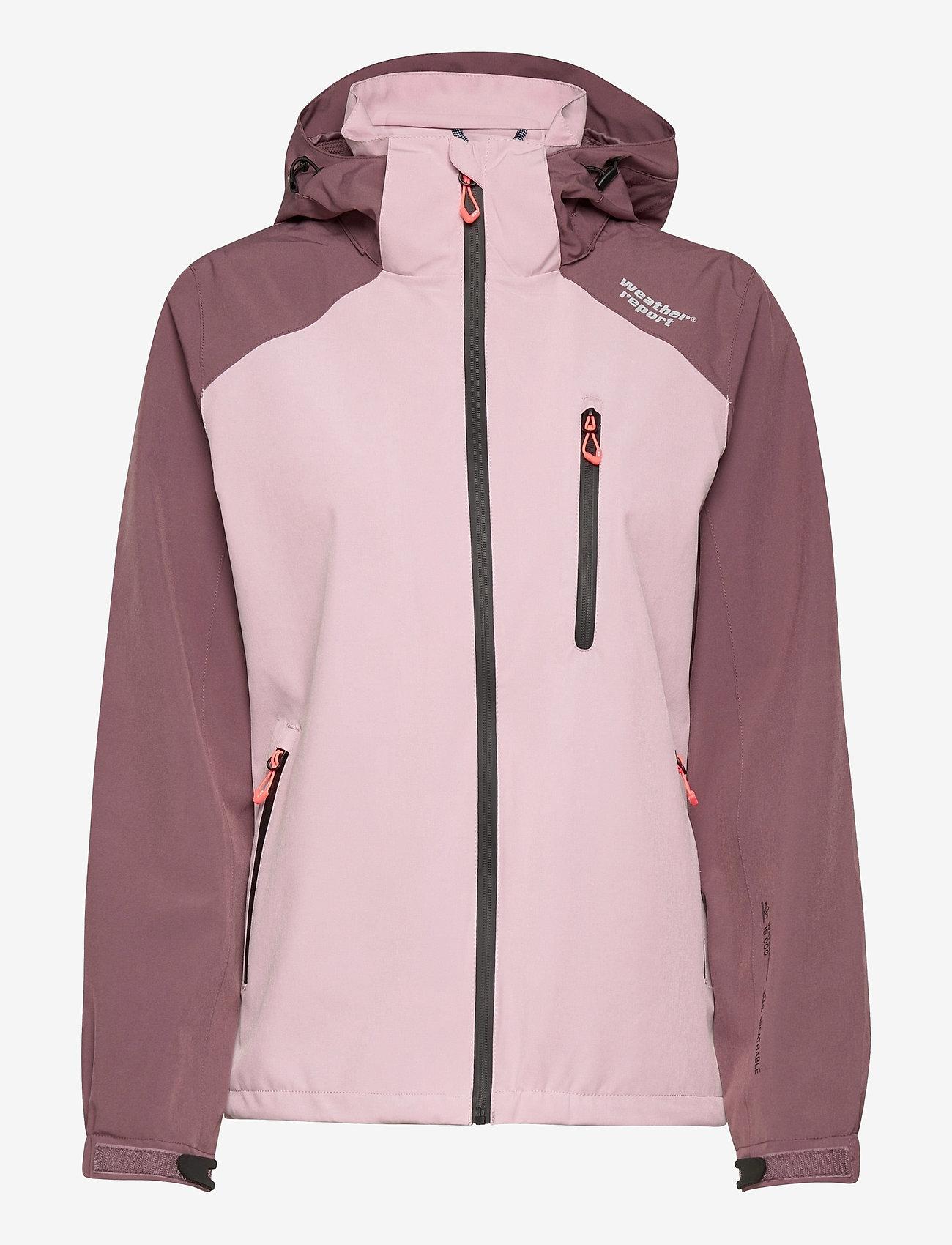 Weather Report - Camelia W AWG Jacket W-PRO 15000 - vestes d'extérieur et de pluie - dawn pink - 0