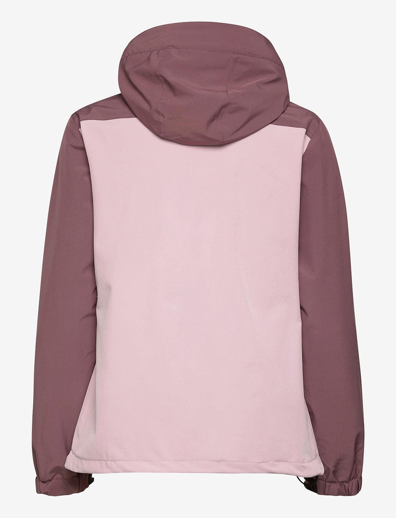 Weather Report - Camelia W AWG Jacket W-PRO 15000 - vestes d'extérieur et de pluie - dawn pink - 1