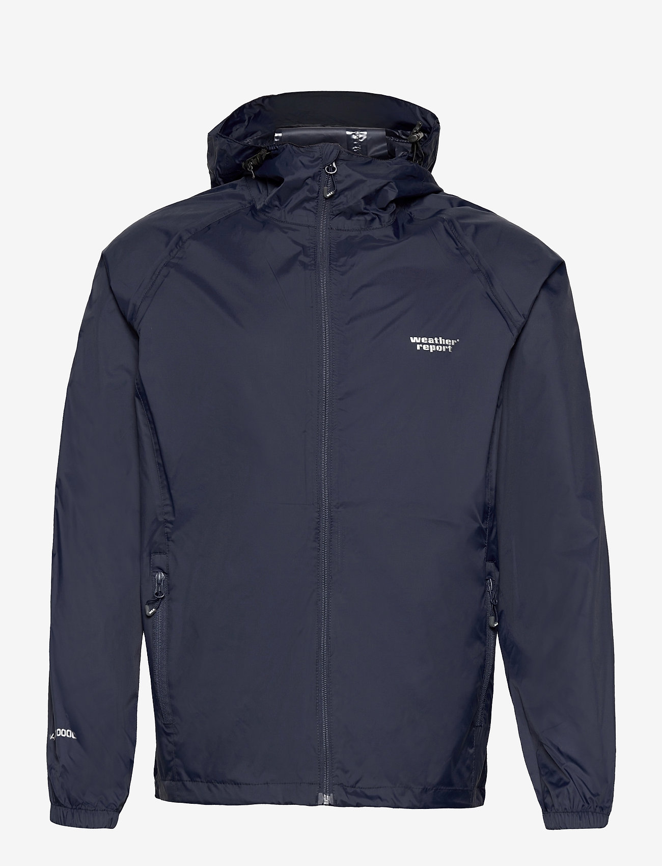 Weather Report - Morisee Unisex Packable AWG Jacket W-PRO 10000 - kurtki i płaszcze - navy blazer - 0