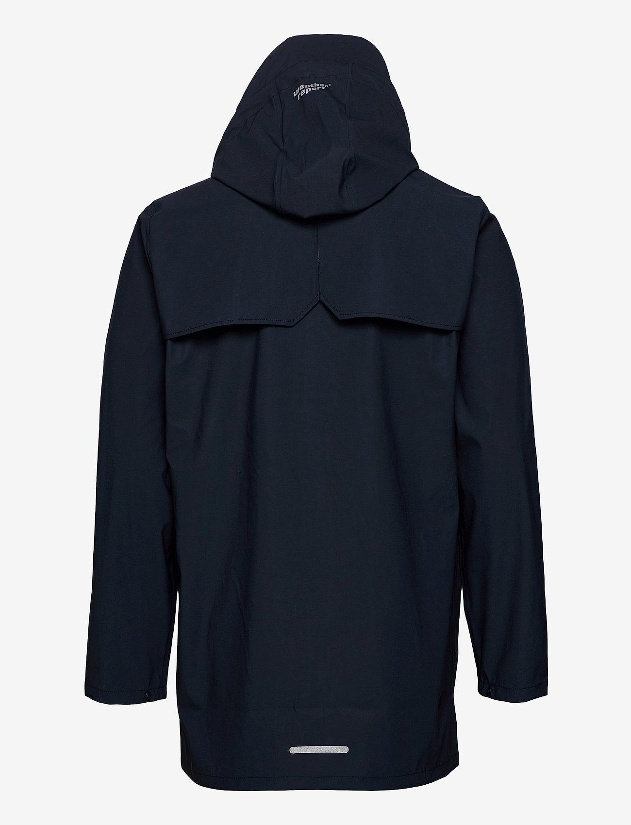 Weather Report - Erik M Dull PU Jacket W-PRO 5000 - płaszcze przeciwdeszczowe - navy blazer - 1