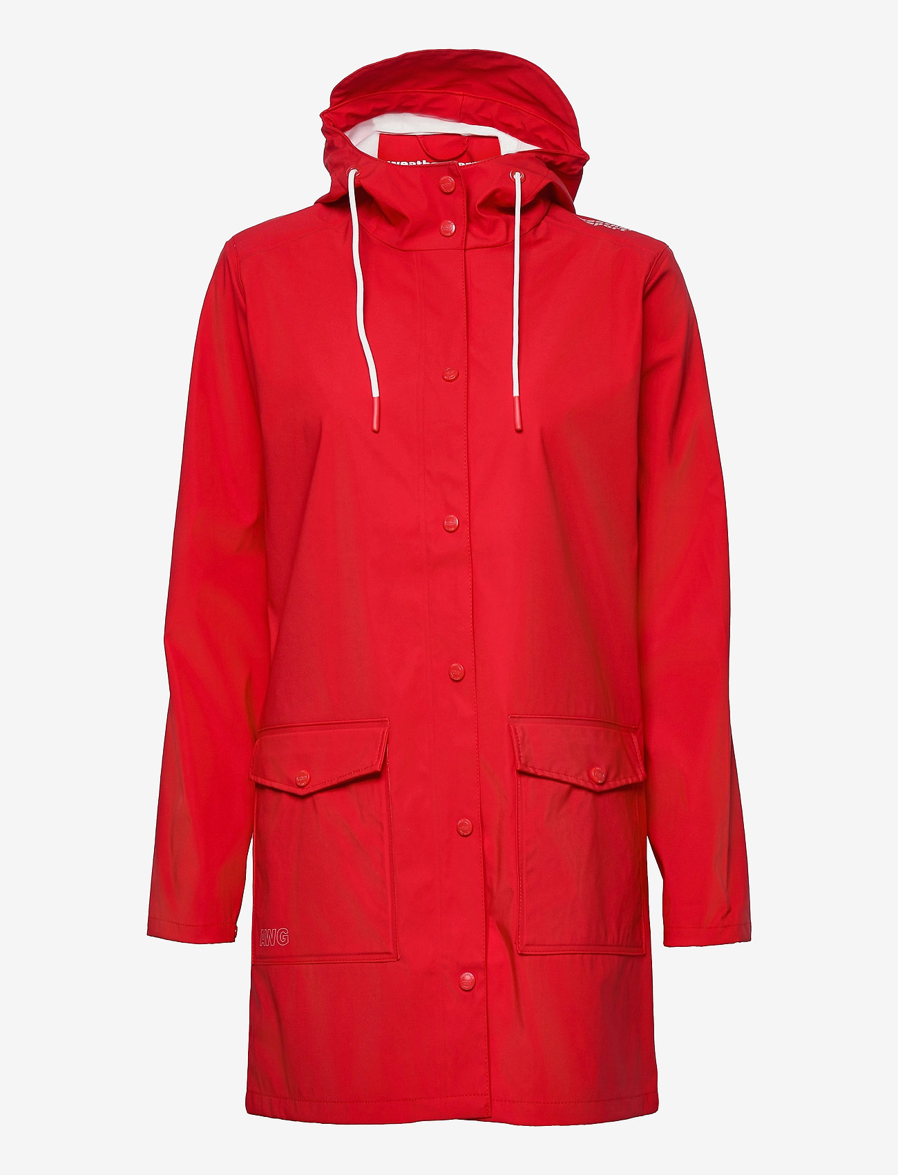 Weather Report - Tass W Dull PU Jacket W-PRO 5000 - manteaux de pluie - chinese red - 0