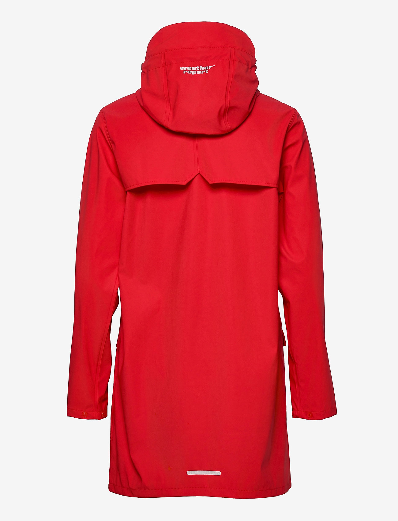 Weather Report - Tass W Dull PU Jacket W-PRO 5000 - manteaux de pluie - chinese red - 1