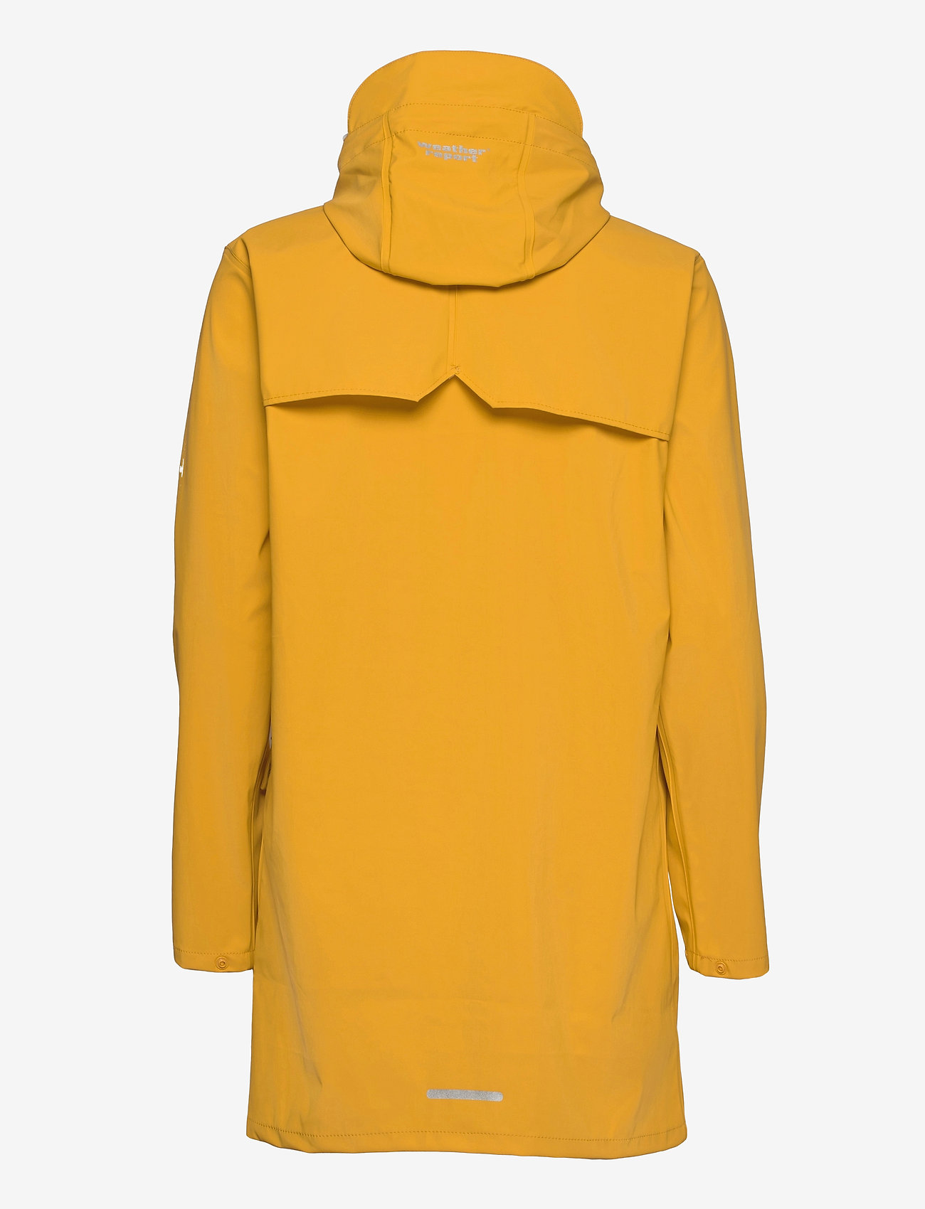 Weather Report - Tass W Dull PU Jacket W-PRO 5000 - manteaux de pluie - golden rod - 1