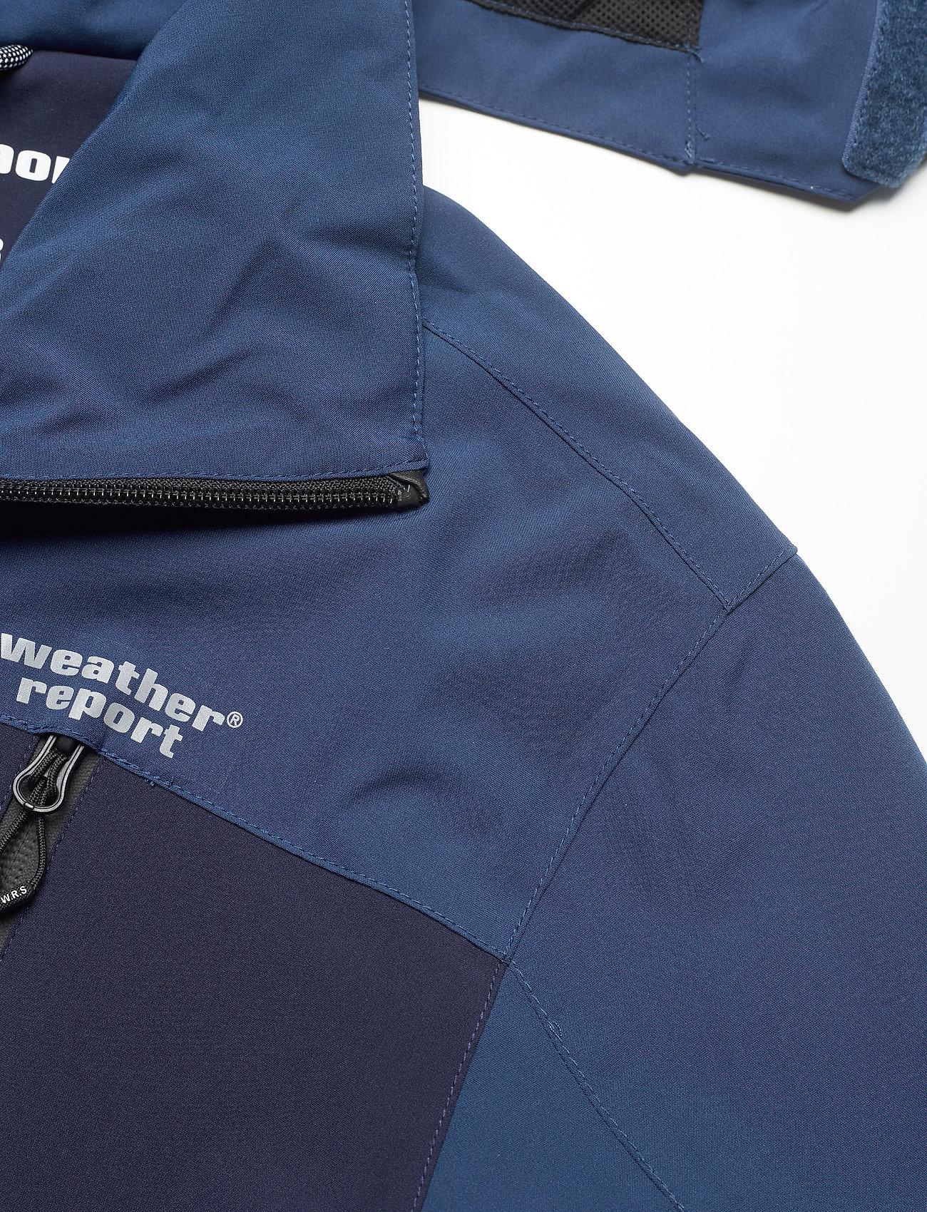 Weather Report - Delton M AWG Jacket W-PRO 15000 - regenjassen - navy blazer - 4