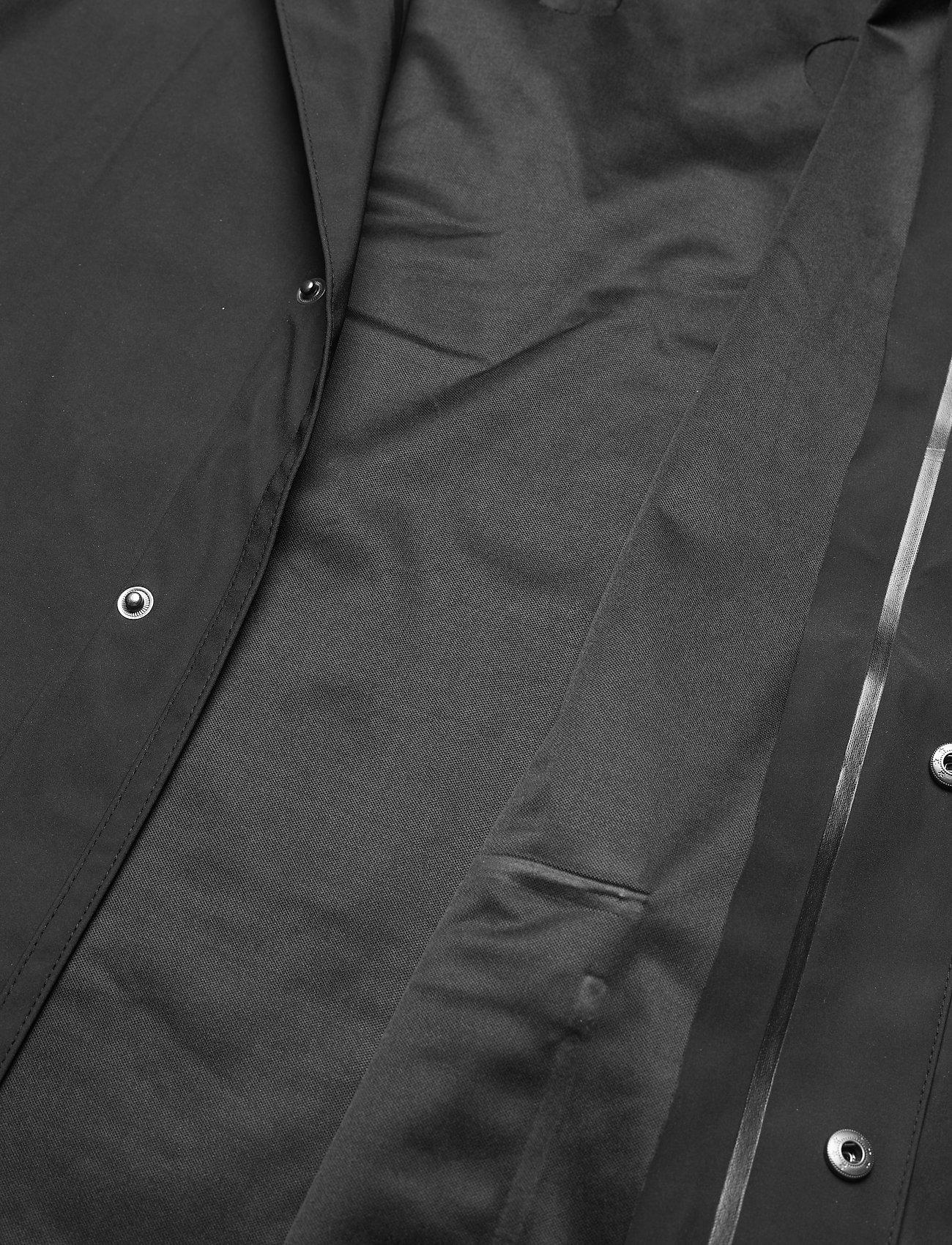 Weather Report - Erik M Dull PU Jacket W-PRO 5000 - płaszcze przeciwdeszczowe - black - 4