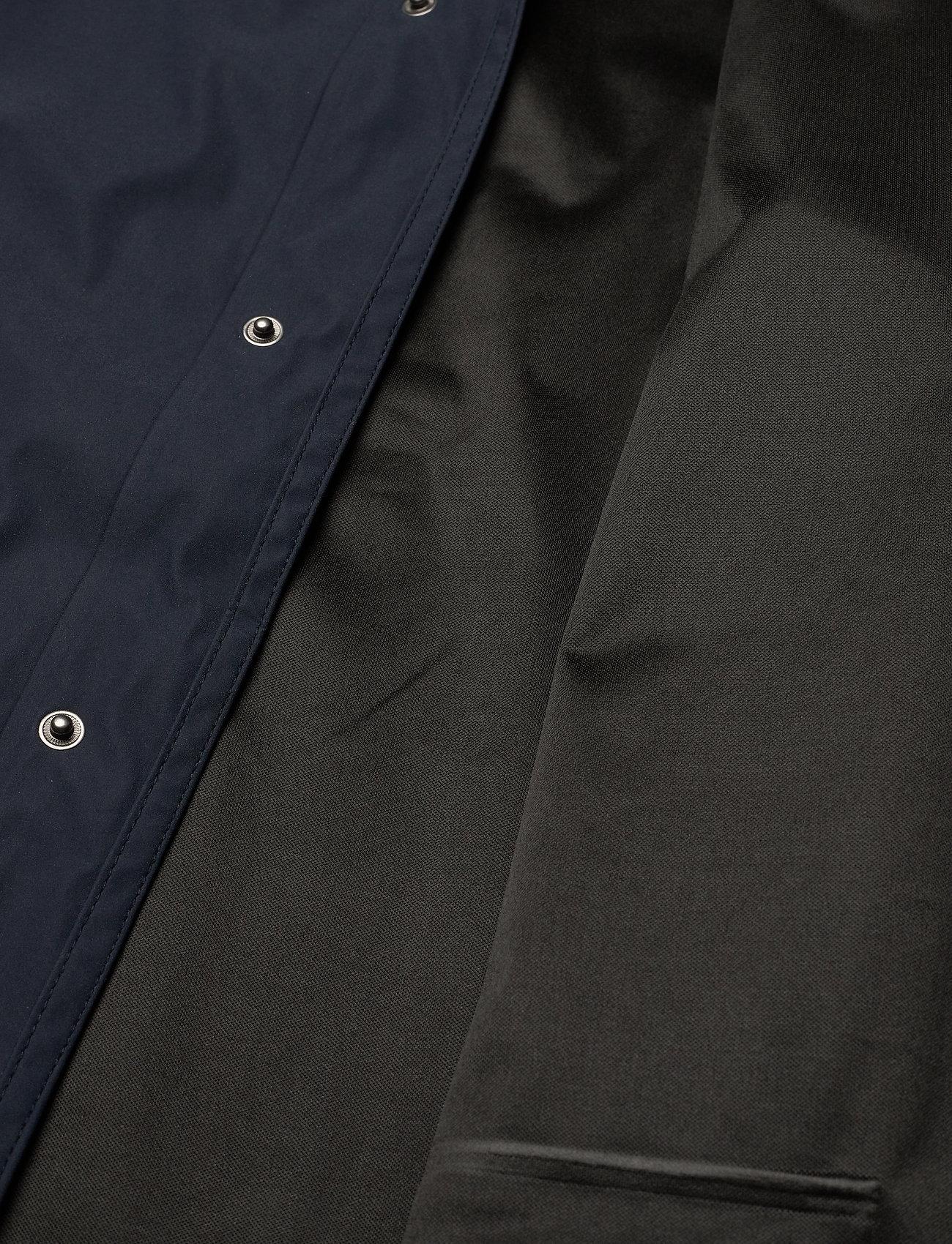 Weather Report - Erik M Dull PU Jacket W-PRO 5000 - płaszcze przeciwdeszczowe - navy blazer - 5