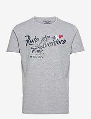 Weather Report - Falco Men`s T-shirt - krótki rękaw - grey - 0