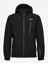 Weather Report - Delton M AWG Jacket W-PRO 15000 - regenjassen - black - 0