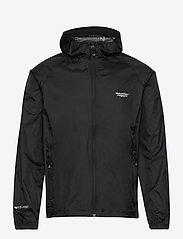 Weather Report - Morisee Unisex Packable AWG Jacket W-PRO 10000 - kurtki i płaszcze - black - 0