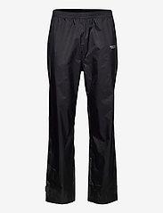 Weather Report - Morisee Unisex Packable AWG Pant W-PRO 10000 - regnbukser - black - 0