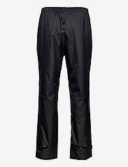 Weather Report - Morisee Unisex Packable AWG Pant W-PRO 10000 - regnbukser - black - 1